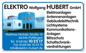 Elektro Wolfgang Hubert GmbH Logo